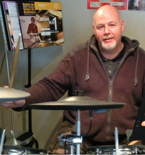 drum teacher in York, Craig
