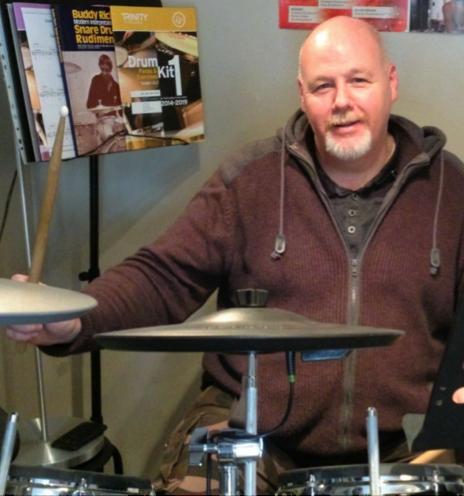 drum teacher in York, Craig